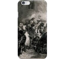 Edmond Morin Food being served by well dressed women to poorly dressed pe iPhone Case/Skin