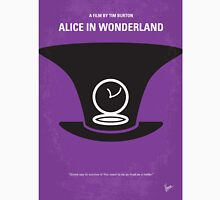 No140 My Alice in Wonderland minimal movie poster Unisex T-Shirt