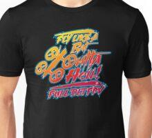 Fly Like a Bat Outta Hell-Hot Rod T Shirt Unisex T-Shirt