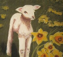 Little lamb, who made thee? by Hilary Robinson