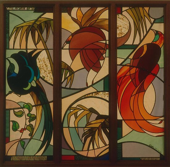 Birds of Paradise 1992 by Jeffrey Hamilton