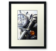 Big and small Framed Print
