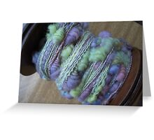 Art Yarn Greeting Card