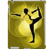 Super Smash Bros. Yellow Wii Fit Trainer (Male) Silhouette iPad Case/Skin