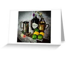 Tankards of Gin Greeting Card