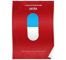 No144 My AKIRA minimal movie poster Poster