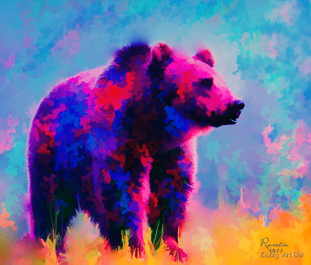 Grizzly Bear  by rosalin