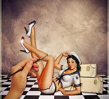 Pin up Artist by Kym Howard