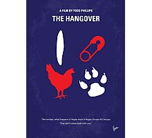 No145 My THE HANGOVER Part I minimal movie poster Photographic Print