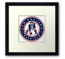 New England Patriots logo 4 Framed Print