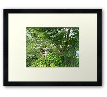 Jude and Michelle's Greenery Framed Print