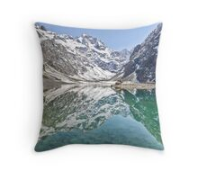 Lake Marian - New Zealand Throw Pillow