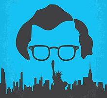 No146 My Manhattan minimal movie poster by JinYong
