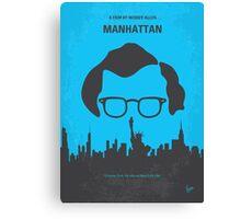 No146 My Manhattan minimal movie poster Canvas Print