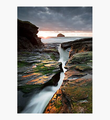Gull Rock Photographic Print