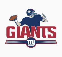 New York Giants logo 3 Baby Tee