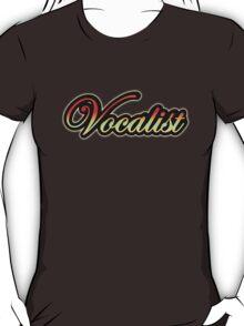 Colorful Vocalist  T-Shirt