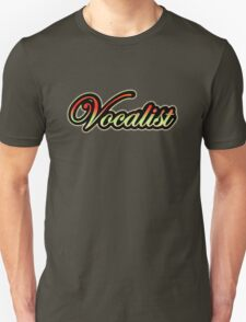 Colorful Vocalist  T-Shirt