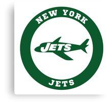 New York Jets logo Canvas Print