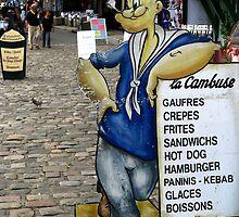 Popeye in Honfleur by Marilyn Harris