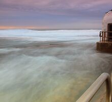 Merewether Ocean Baths - The Dome and Birds by Andi Surjanto