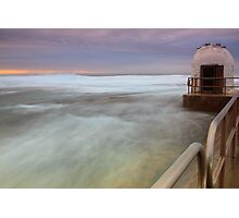 Merewether Ocean Baths - The Dome and Birds Photographic Print