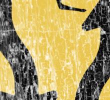 Kangaroo Sign - Urban Grunge Sticker