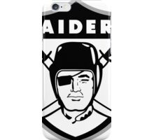 Oakland Raiders logo 2 iPhone Case/Skin