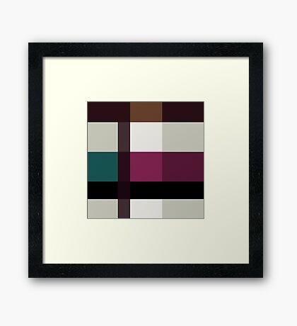Chocolate Fudge and Berries Framed Print