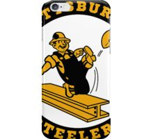 Pittsburgh Steelers logo 2 iPhone Case/Skin