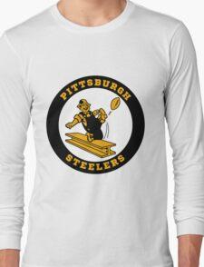 Pittsburgh Steelers logo 2 Long Sleeve T-Shirt