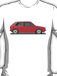 Volkswagen Golf Mk1 - Red T-Shirt