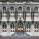 Door and windows of the City Hall by Adri  Padmos