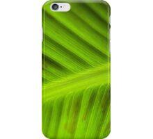 banana leaf iPhone Case/Skin