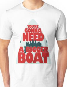 Bigger Boat Jaws Funny T-shirt
