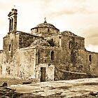 ? church in the castle of pylos - Greece by Stavros