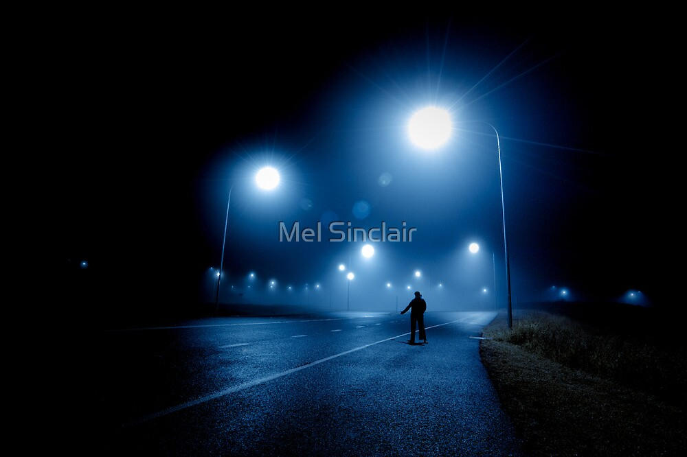 The Hitchhiker by Mel Sinclair