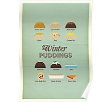 Winter Puddings - A selection of British Classics Poster