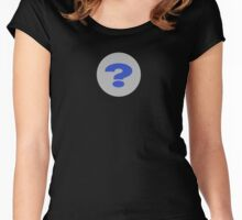 Question Mark T-Shirt - Questioning Everything Clothing iPhone Case Women's Fitted Scoop T-Shirt