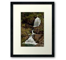 Little Crystal Creek Falls  Framed Print