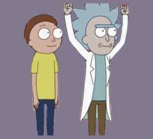 Tiny Rick and Morty Kids Tee