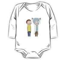 Tiny Rick and Morty One Piece - Long Sleeve