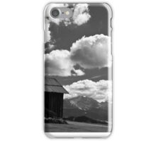 clouds in the valley iPhone Case/Skin