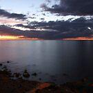 Mornington sunset by Karen Tregoning