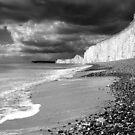 Storm approaching, Birling Gap by Rachael Talibart