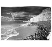 Storm approaching, Birling Gap Poster