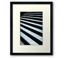 almost there! Framed Print