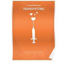 No152 My TRAINSPOTTING minimal movie poster Poster