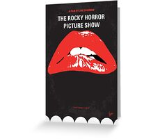 No153 My The Rocky Horror Picture Show minimal movie poster Greeting Card