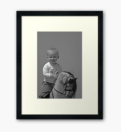 Matthew and Doris. Framed Print